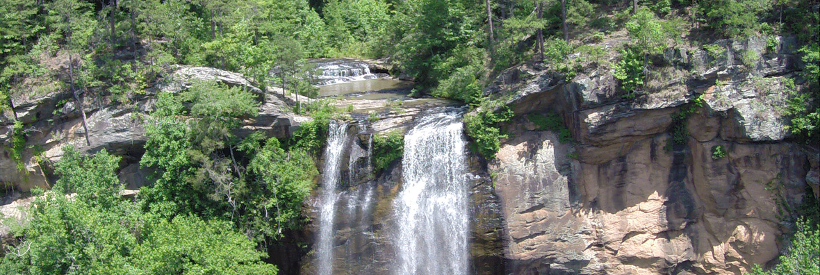 Toccoa Waterfalls